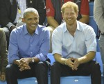 Barack Obama and Prince Harry attend the Invictus Games