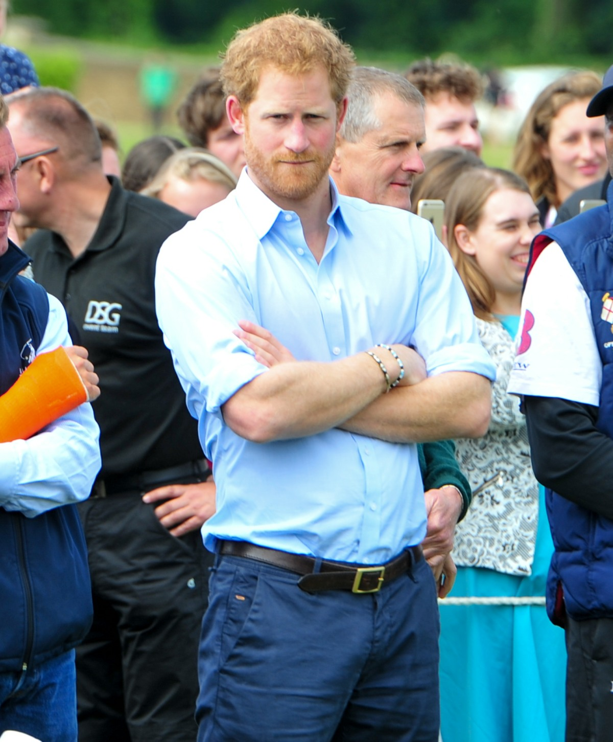 HRH Prince Harry Of Wales, seen at the Festival of Polo at Beaufort Polo Club, Gloucestershire