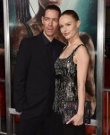 Michael Polish, Kate Bosworth at the Premiere of Warner Bros' Tomb Raider at the TCL Chinese Theatre in Hollywood