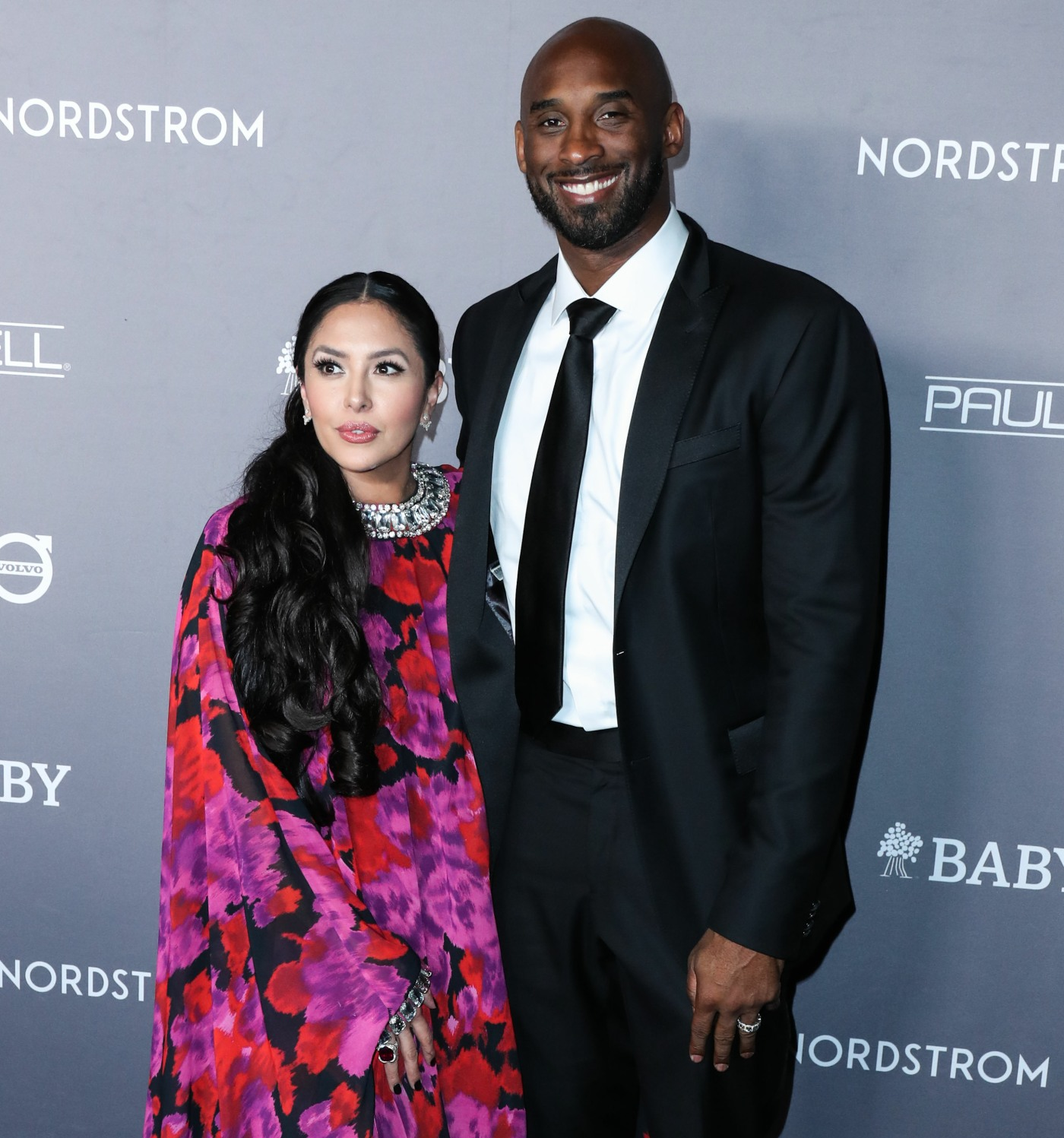 Vanessa Laine Bryant and husband/American basketball player Kobe Bryant arrive at the 2019 Baby2Baby Gala held at 3Labs on November 9, 2019 in Culver City, Los Angeles, California, United States.