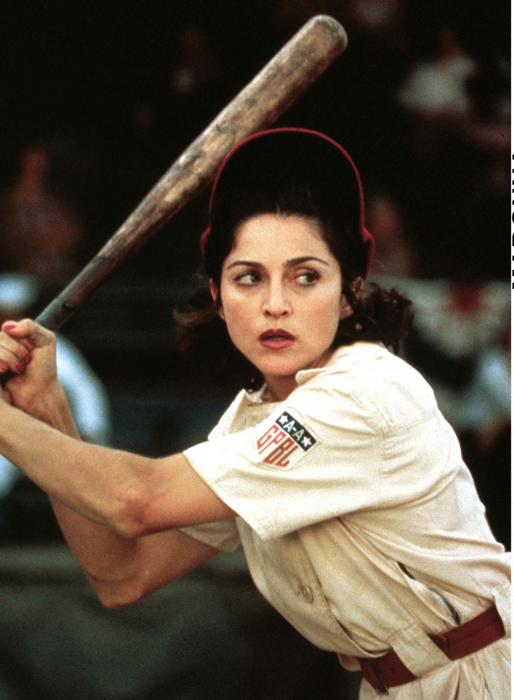 MADONNA IN THE FILM 'A LEAGUE OF THEIR O..........
