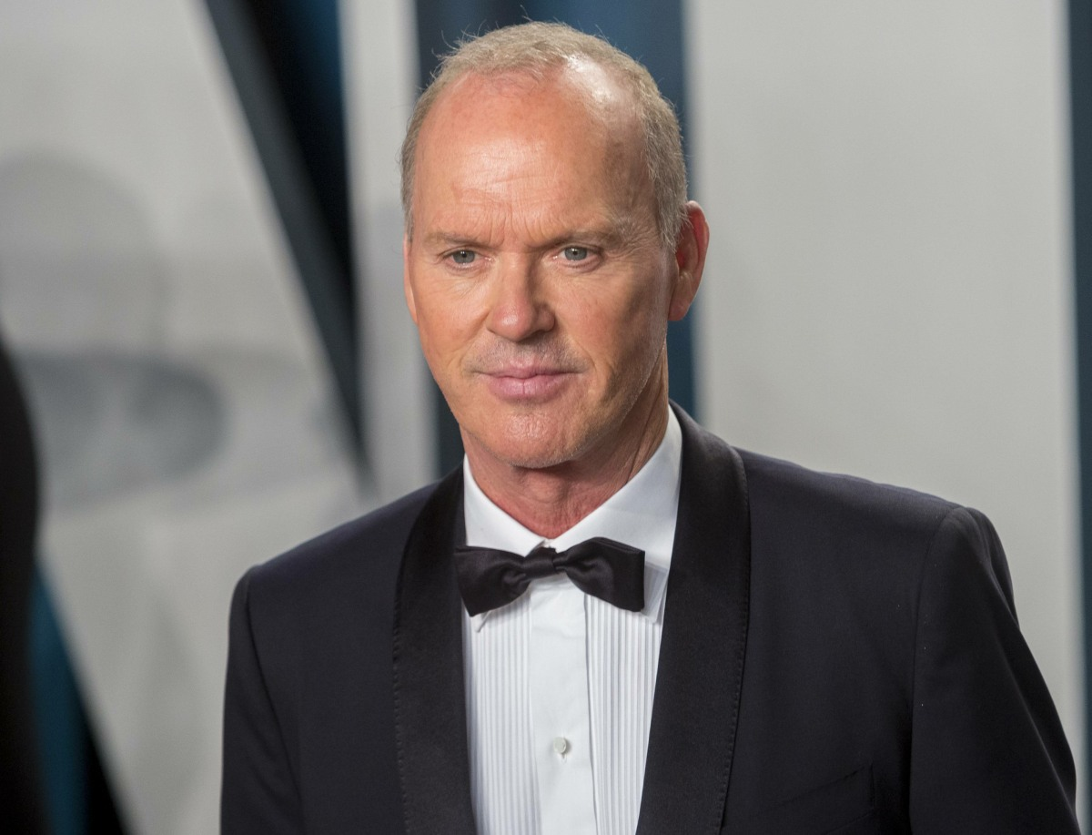 Michael Keaton attends the Vanity Fair Oscar Party at Wallis Annenberg Center for the Performing Art...