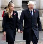 Boris Johnson attends Remembrance Sunday