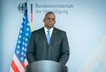 Defense Secretary in Germany