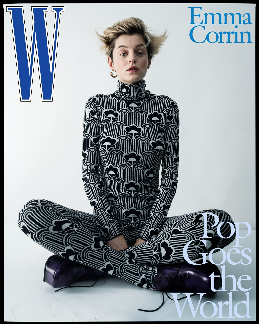 emma corrin w magazine