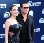 **FILE PHOTOS** Angelina Jolie and Brad Pitt going to trial in custody case