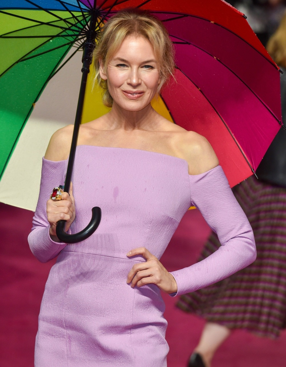 Renee Zellweger arrives at the European premiere of