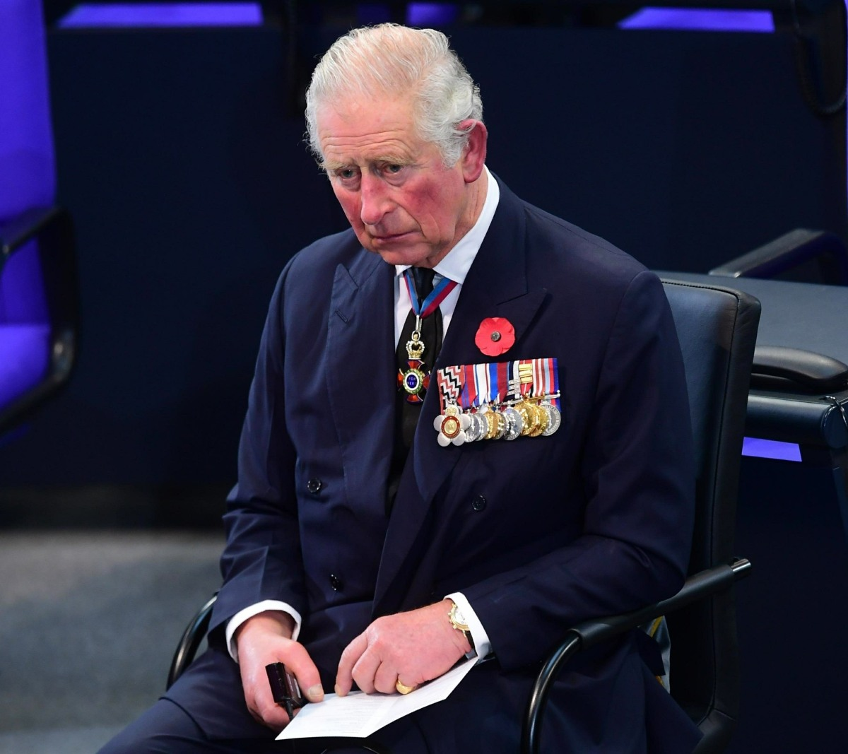 Prince Charles And Camilla visit Berlin To Attend National Mourning Day Events