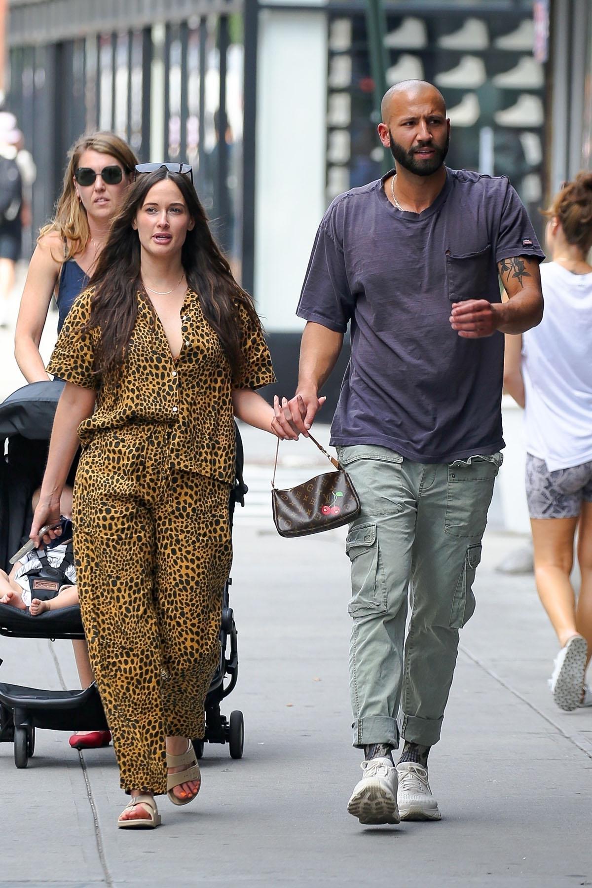 Kacey Musgraves and boyfriend Cole Schafer walk Hand in Hand  in New York