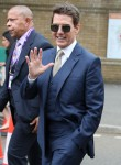 Tom Cruise Attends Wimbledon Finals with Mission Impossible Costars Hayley Atwell and Pom Klementieff