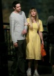 Kaley Cuoco and Pete Davidson film 'Meet Cute' in Queens, NY