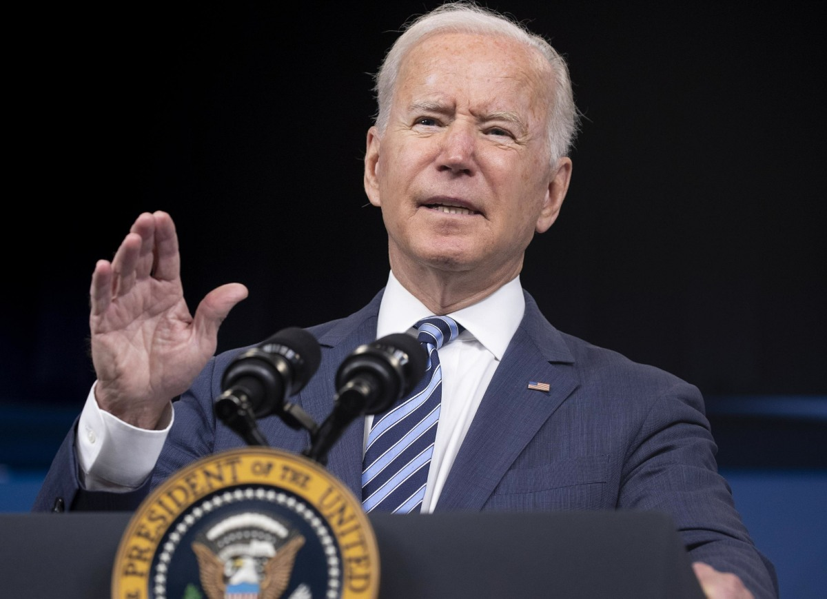 US President Joe Biden delivers remarks on Hurricane Ida