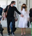 Ben Affleck and Jennifer Lopez arrive in Venice