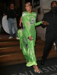 Ciara seen coming out from The Peninsula Hotel and heading to the Met Gala