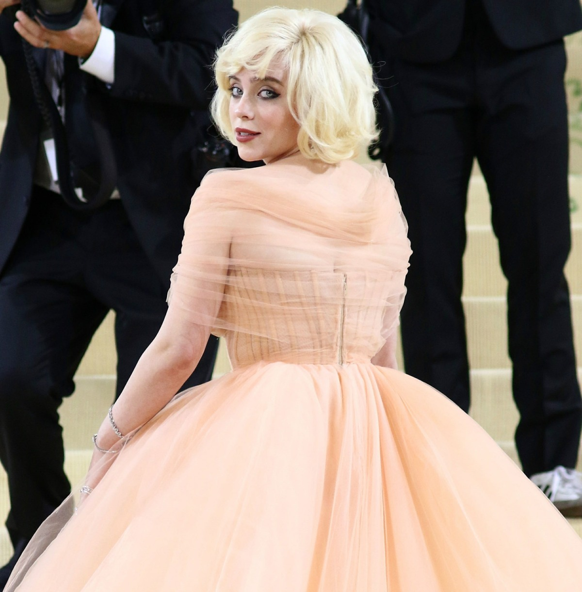 Red Carpet Arrivals at the 2021 Met Gala.