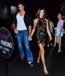 Kaia Gerber and Jacob Elordi arrive at the MET Gala after-party held at Cathédrale in NYC
