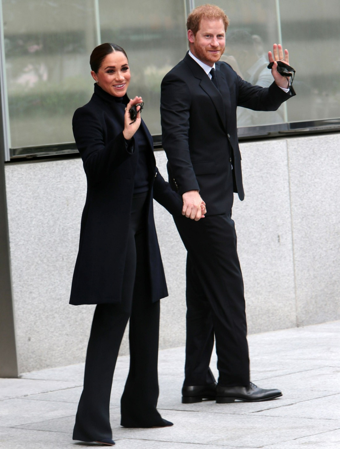Meghan Markle and Prince Harry Visit The World Trade Center