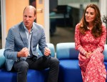 Britain's Prince William and Catherine, Duchess of Cambridge speak to employers, at the London Bridge Jobcentre, in London