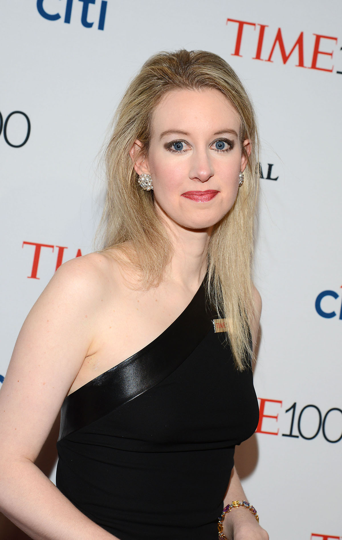 Elizabeth Holmes attends the TIME 100 Is..........