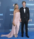 Kaley Cuoco, Karl Cook attends The 22nd Annual Critics' Choice Awards at Barker Hanger, Santa Monica