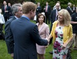 Prince Harry received at British Ambassador's Residence in USA