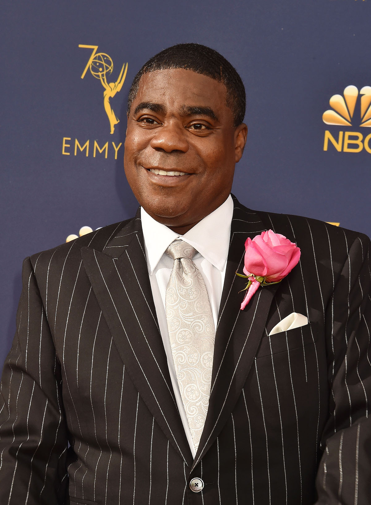 Tracy Morgan at the 70th Emmy Awards in Los Angeles