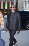 Michael K Williams arrives at NBC Studios for his appearance on the Tonight Show with Jimmy Fallon
