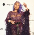 Nicki Minaj at the Daily Front Row's Fashion Media Awards on September 6, 2018 at the Park Hyatt in New York city.