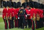 Grenadier Guards medal presentation