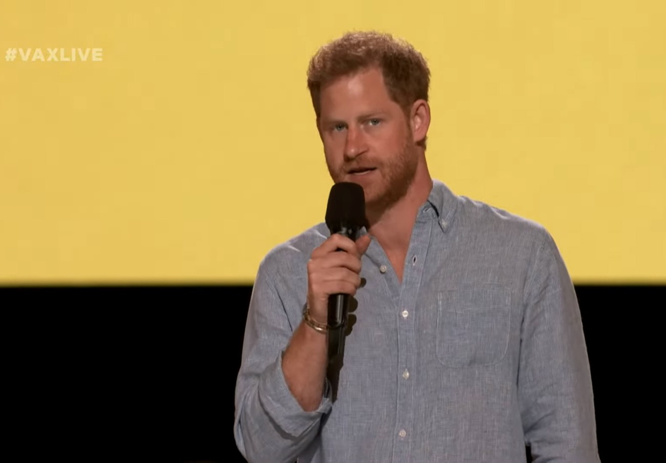 """Prince Harry, Duke of Sussex - Global Citizen """"Vax Live: The Concert to Reunite the World"""""""