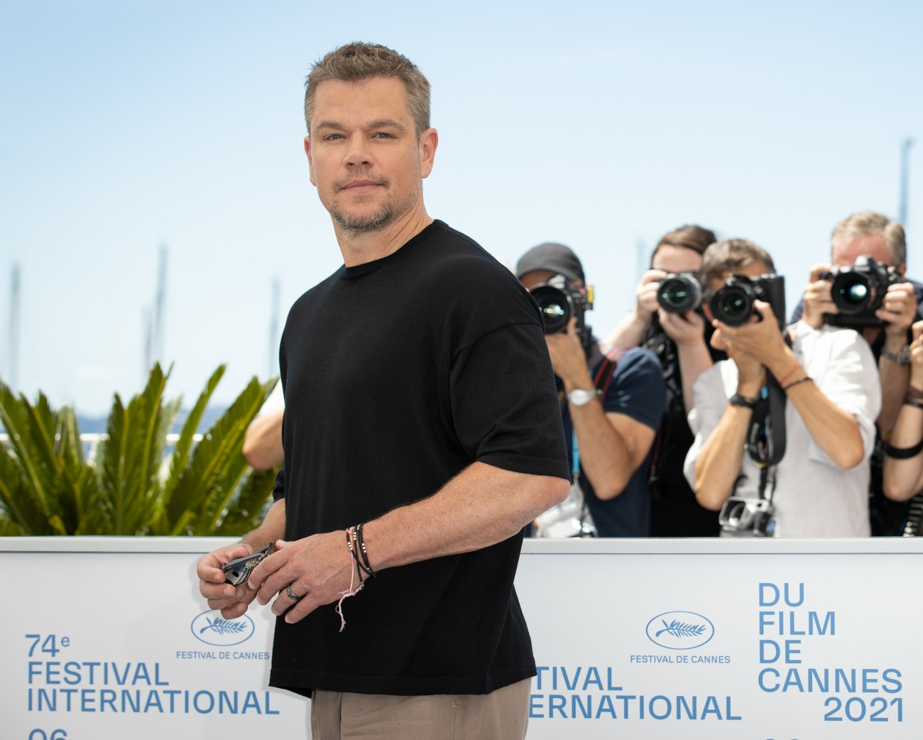 """""""Stillwater"""" Photocall - The 74th Annual Cannes Film Festival"""