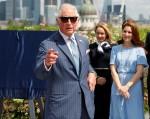 Britain's Prince Charles visits Goldman Sachs in London