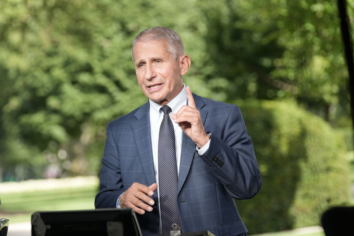 Fauci Interviewed