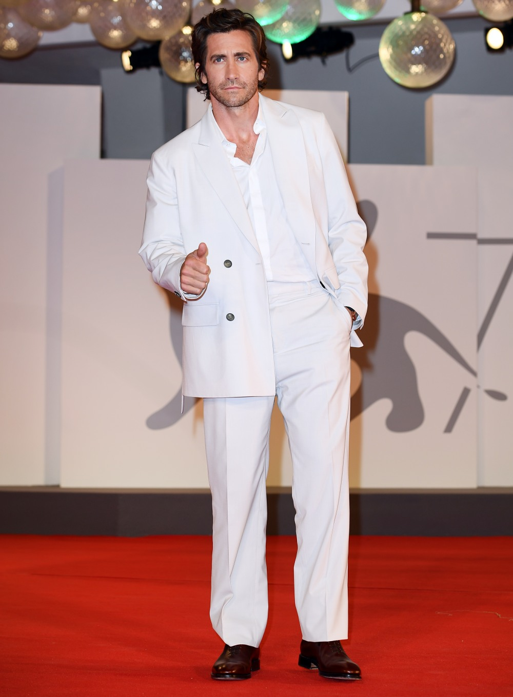The Lost Daughter red carpet, 78th Venice International Film Festival, Italy - 04 Sep 2021