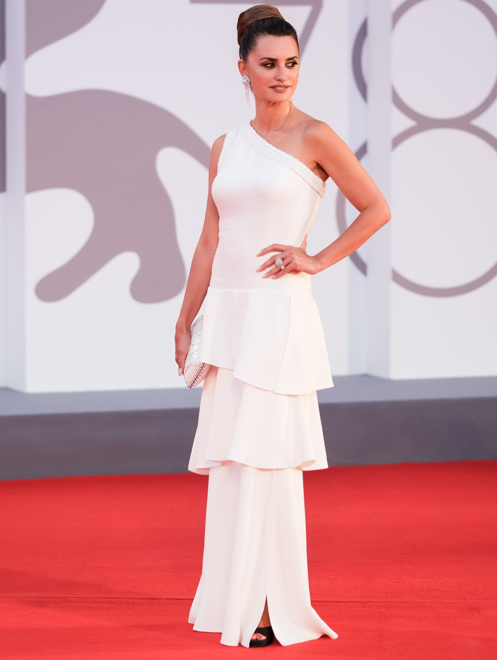 COMPETENCIA OFICIAL Red Carpet during the 78th Venice International Film Festival