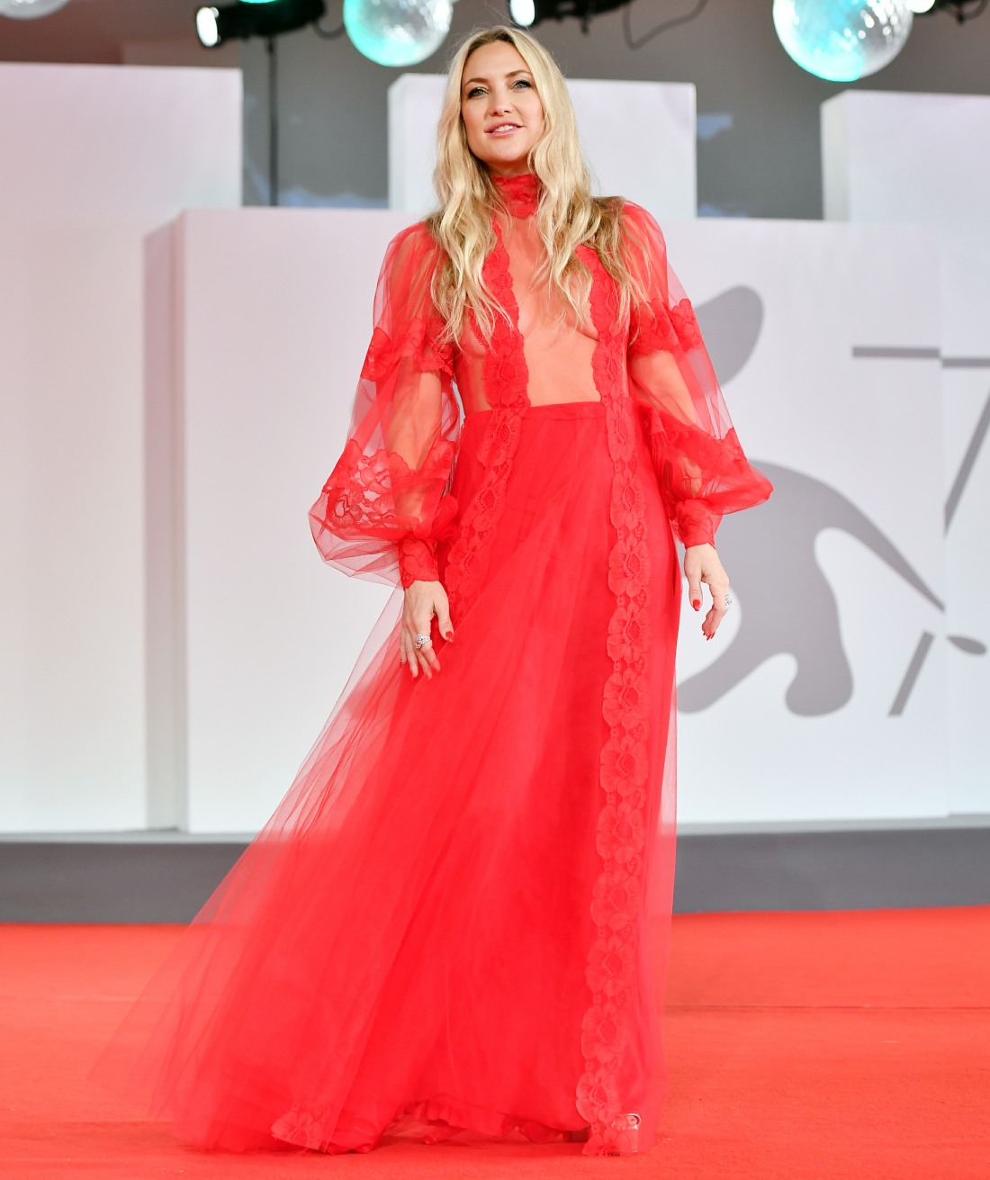 78th Venice Film Festival, Red carpet of film Mona Lisa and the Blood Moon, Venice, Italy