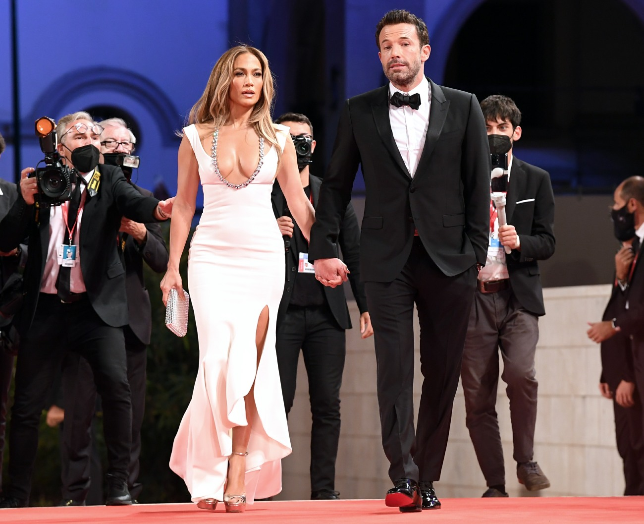'The Last Duel' red carpet, the 78th annual Venice International Film Festival, in Venice, Italy, 10 September 2021.