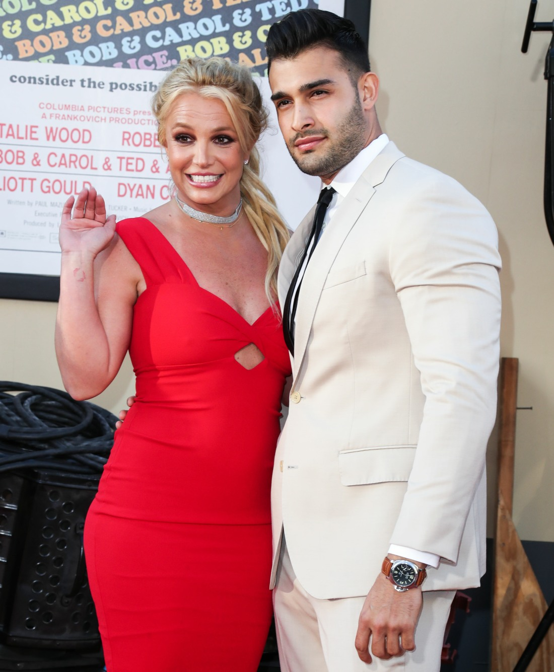 (FILE) Britney Spears Is Engaged to Sam Asghari After Nearly 5 Years Together