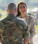 The Duchess of Cambridge visit to RAF Brize Norton