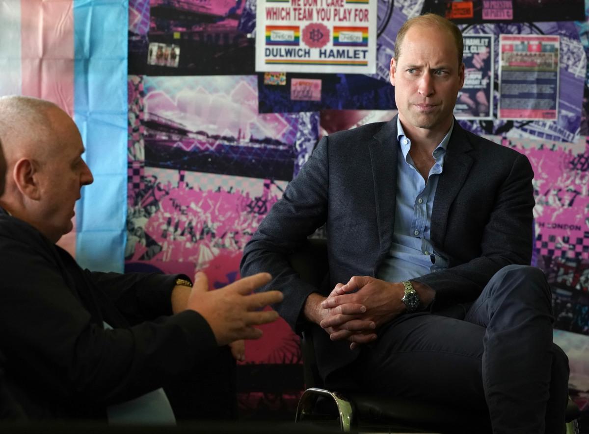 Duke of Cambridge visit to Dulwich Hamlet FC
