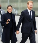 Meghan Markle and Prince Harry make a visit to the One World Trade Center