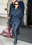 Kim Kardashian West heads to SNL rehearsal