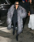 Kim Kardashian arrives at the SNL dinner at Lattanzi in New York City