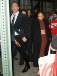 """Jennifer Lopez and Ben Affleck hold hands as they leave  """"The Last Duel"""" after-party"""