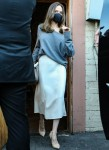 Angelina Jolie leaves skylight bookstore after meeting hundreds of fans and signing autographs