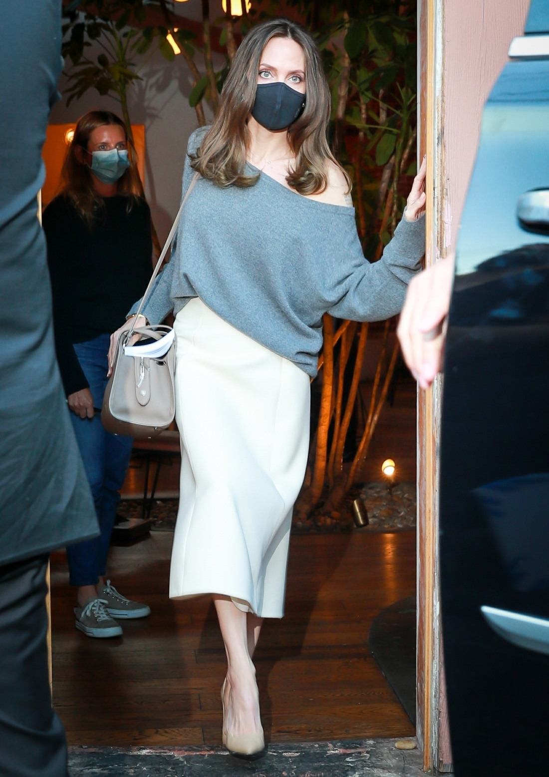 Angelina Jolie signs her latest book for her fans in LA