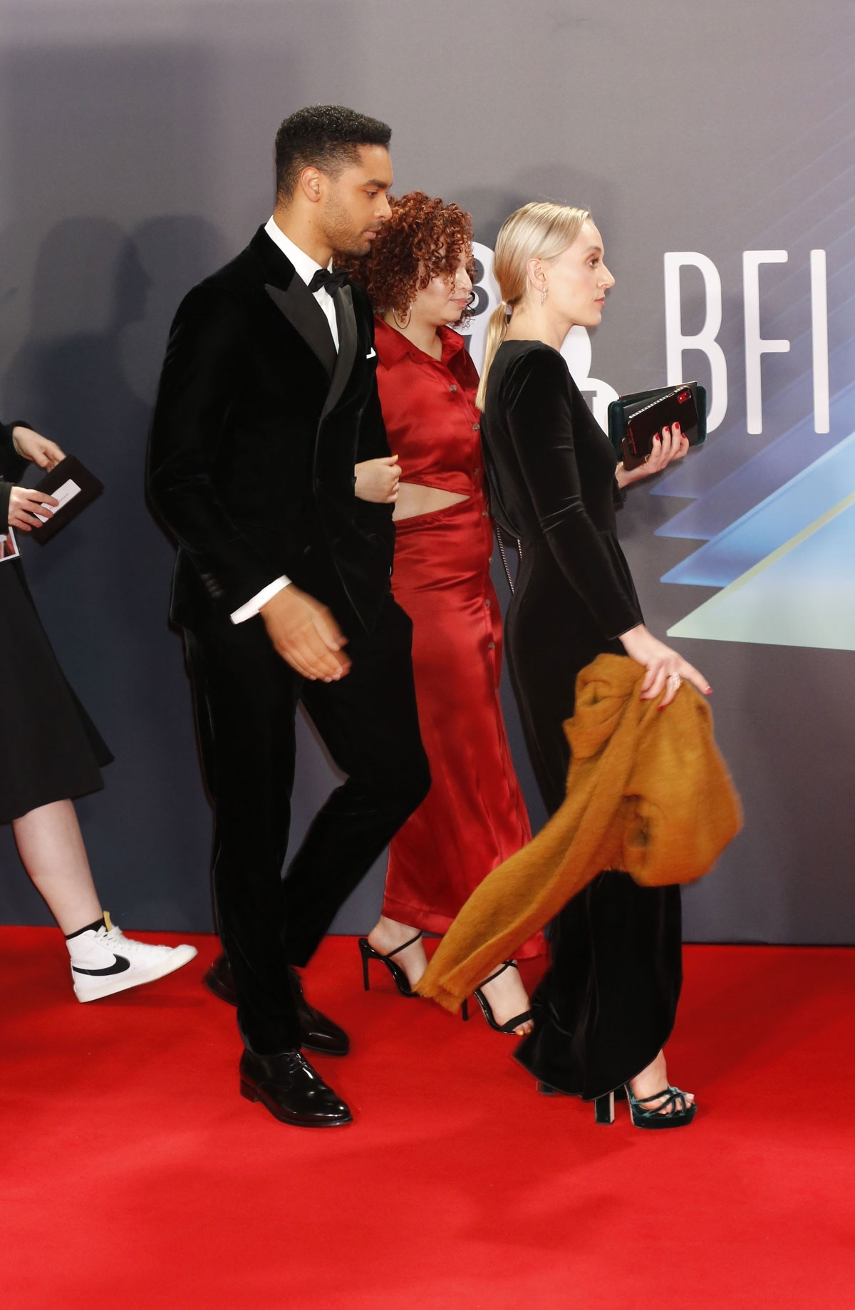 Rege-Jean Page brought his girlfriend to the BFI Festival but they didn't pose together