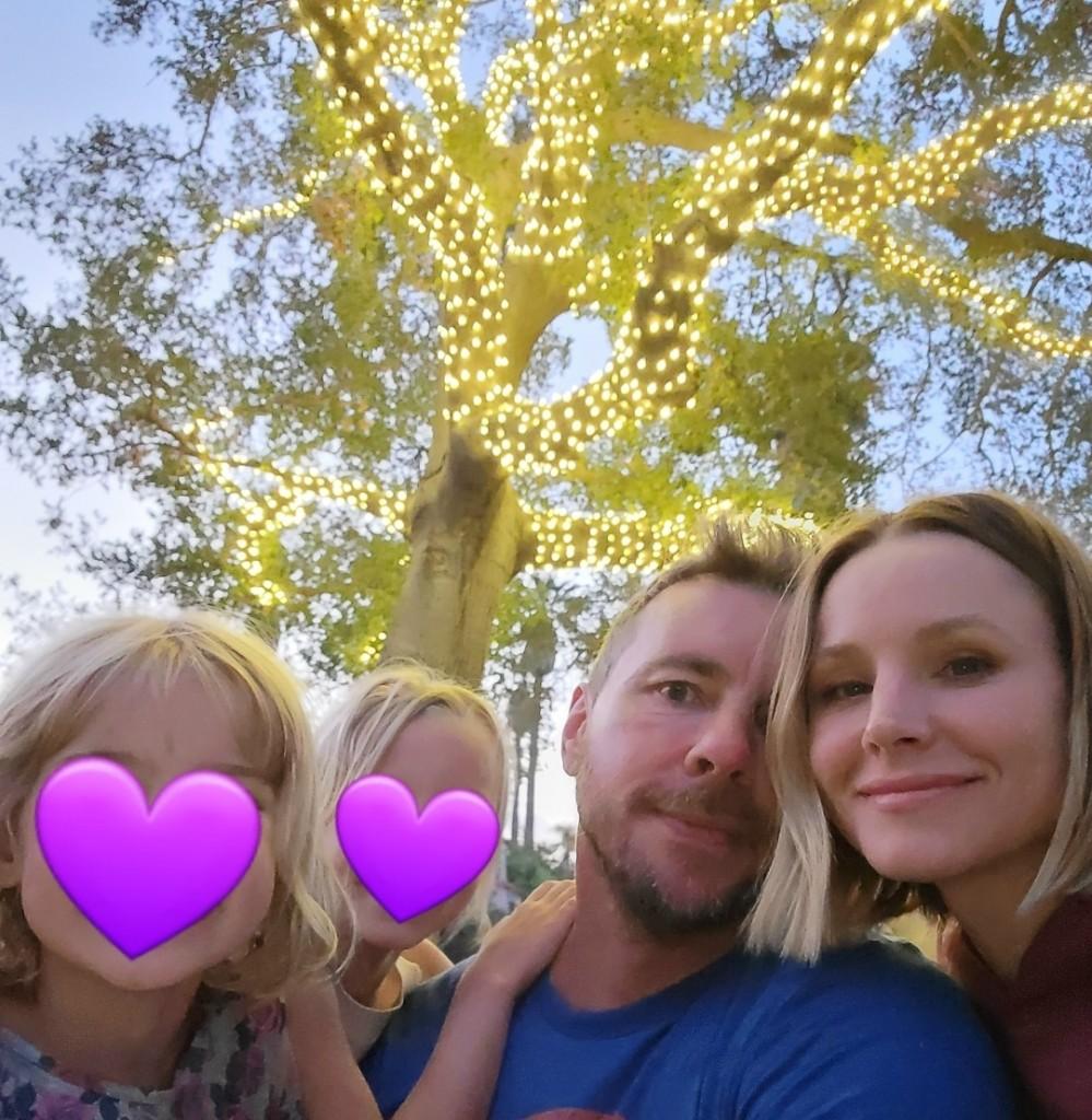 Kristen_Bell_Family