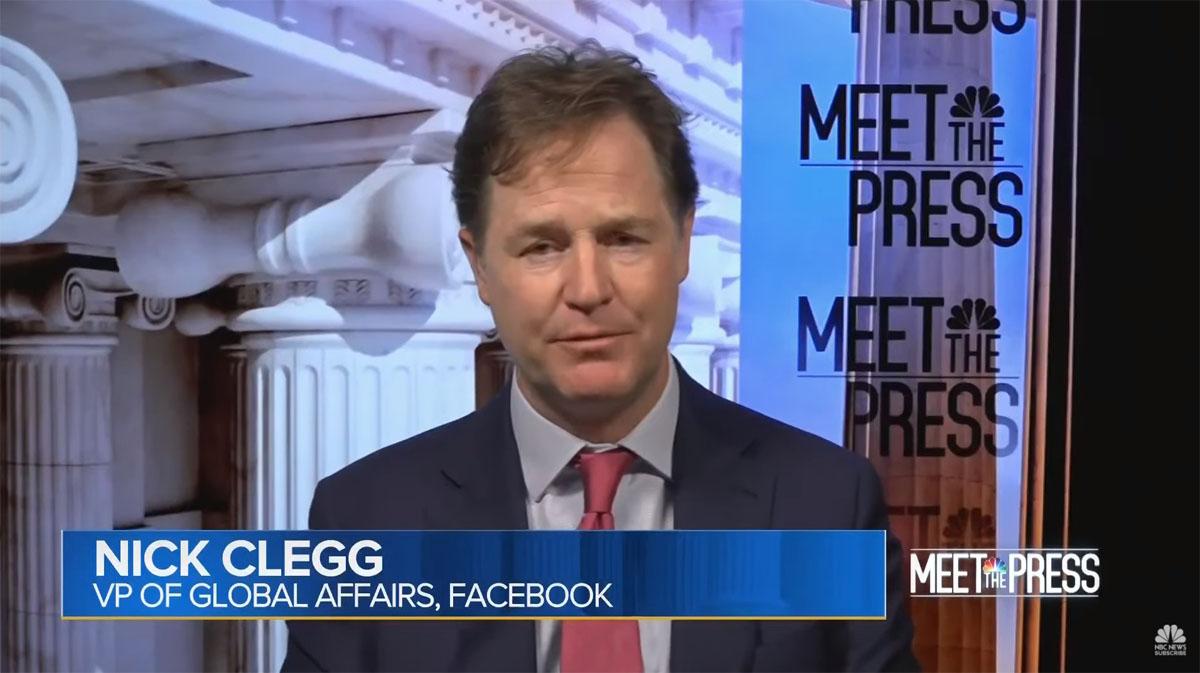 Nick Clegg on Meet The Press