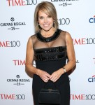 Katie Couric seen attending the 2015 Time 100 Gala at Jazz at Lincoln Center in New York City
